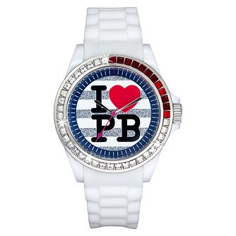 Paul's Boutique Luna White Strap Watch - Product number 9204962