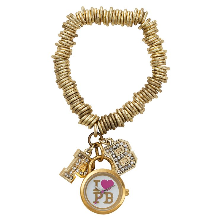 Paul's Boutique Roxy Gold-Plated Charm Watch - Product number 9205209