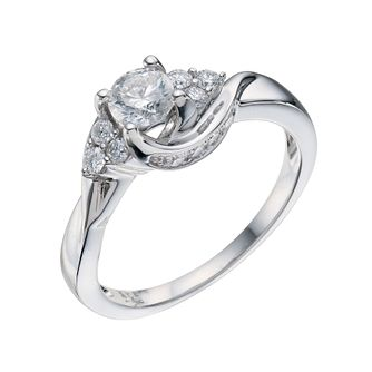 18ct White Gold 0.75 Carat Diamond Solitaire Ring - Product number 9224696