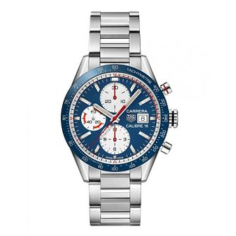 Tag Heuer Stainless Steel Carrera Heuer Calibre 16 Watch - Product number 9232184