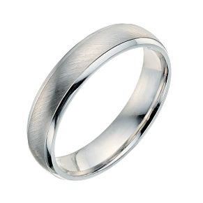 9ct white gold 4mm wedding ring - Product number 9249699