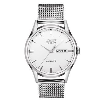 Tissot Visodate Men's White Dial Bracelet Watch - Product number 9269010