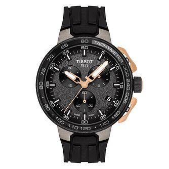Tissot T Racer Men's Black Strap Watch - Product number 9269584