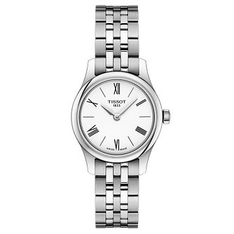 Tissot Tradition Stainless Steel White Bracelet Watch - Product number 9272259