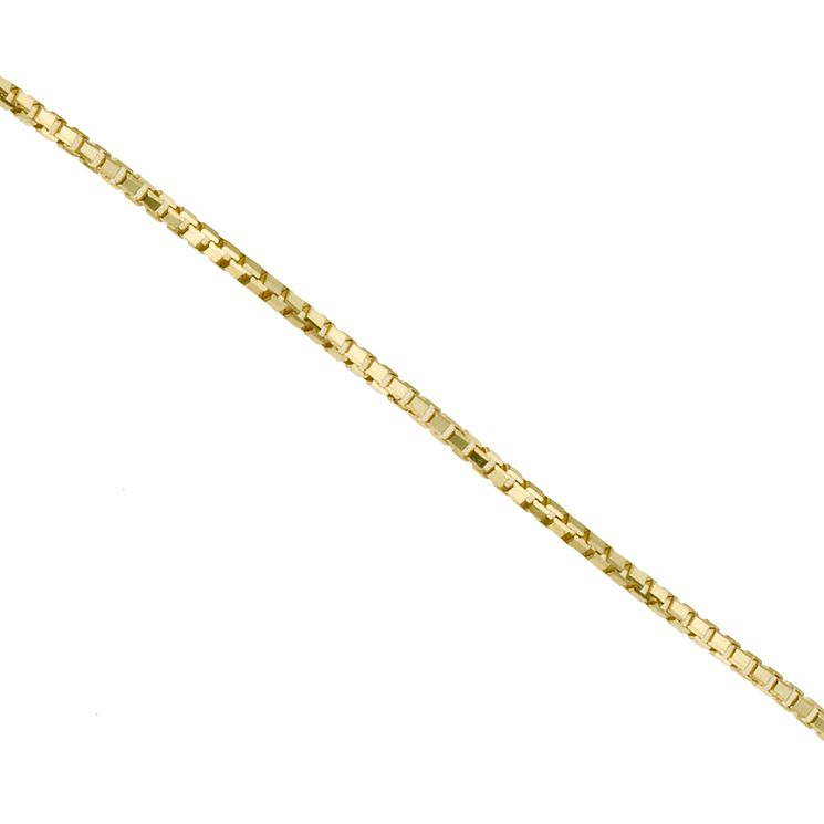 "9ct yellow gold 20"" box chain - Product number 9280456"