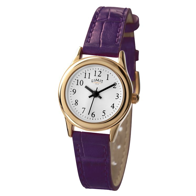 Limit Purple Strap Watch - Product number 9285431