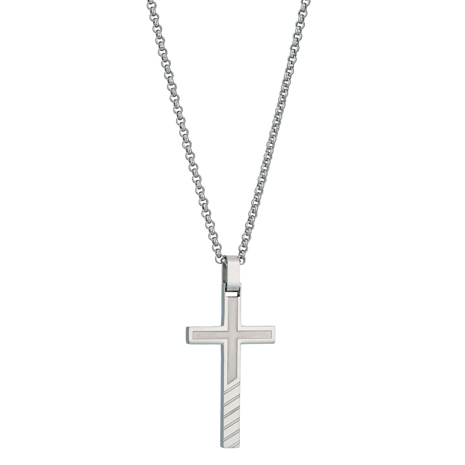 Stainless steel cross pendant hmuel stainless steel cross pendant product number 9288902 aloadofball Images