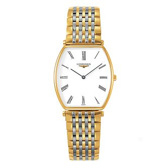 Longines men's two colour bracelet watch - Product number 9290834