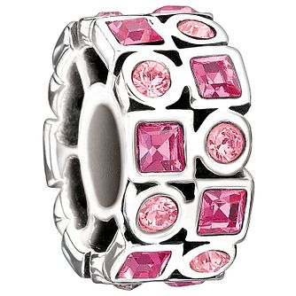 Chamilia stepping stone rose bead - Product number 9295623