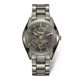 Rado Men's Ceramic HyperChrome Grey Dial Bracelet Watch - Product number 9299947