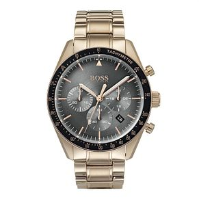 Hugo Boss Rose Gold Plated Trophy Bracelet Watch - Product number 9301283
