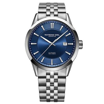 Raymond Weil Freelancer Blue Dial Bracelet Watch - Product number 9302530