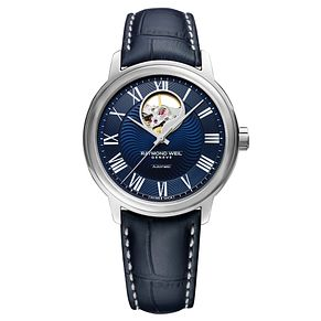 Raymond Weil Maestro Men's Blue Strap Watch - Product number 9302581