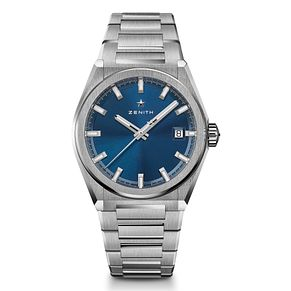 Zenith Deny Men's Stainless Steel Bracelet Watch - Product number 9303499