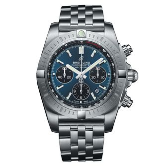 Breitling Chronomat B01 Men's Blue Dial Bracelet Watch - Product number 9303820