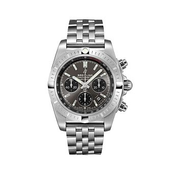 Breitling Chronomat 44mm Men's Grey Bracelet Watch - Product number 9303847