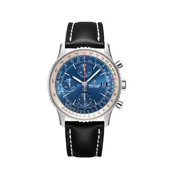 Breitling Navitimer 1 41mm Men's Blue Chronograph Watch - Product number 9304258