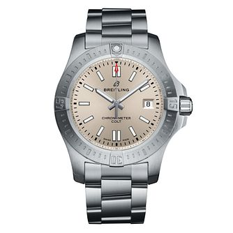 Breitling Colt 41mm Men's Stainless Steel Bracelet Watch - Product number 9304282