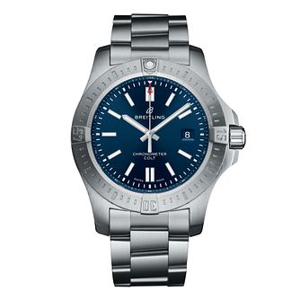 Breitling Colt 44mm Men's Blue Dial Bracelet Watch - Product number 9304320