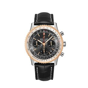 Breitling Navitimer 01 Men's Chronograph Black Strap Watch - Product number 9304738
