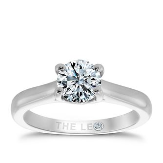 Leo Diamond 18ct white gold 1ct I-SI2 solitaire ring - Product number 9328297