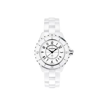 Chanel J12 White Ceramic Bracelet Watch - Product number 9339507