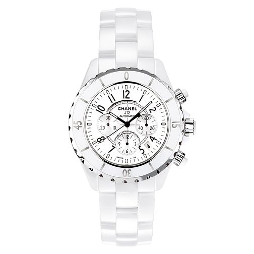 Chanel men's white ceramic bracelet watch - Product number 9339523