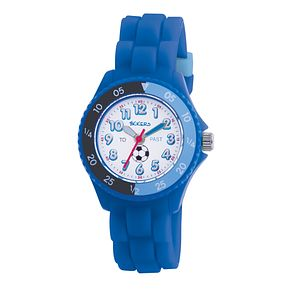 Tikkers Teach Blue Silicone Strap Watch - Product number 9343903
