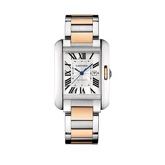 Cartier Tank Anglaise two colour bracelet watch - Product number 9362452