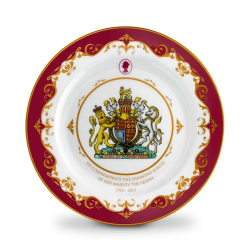 Exclusive Diamond Jubilee Commemorative Plate - Product number 9364153
