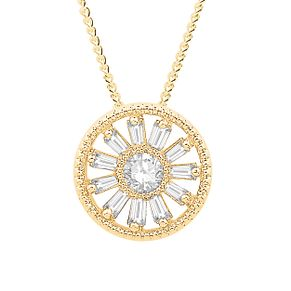 Emmy London 9ct Gold 0.15ct Diamond Pendant - Product number 9382720