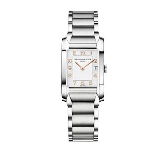 Baume & Mercier Hampton ladies' rectangular bracelet watch - Product number 9382860