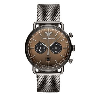 Emporio Armani Men's Brown Bracelet Watch - Product number 9390766