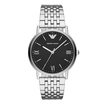 Emporio Armani Men's Kappa Silver Bracelet Watch - Product number 9390839