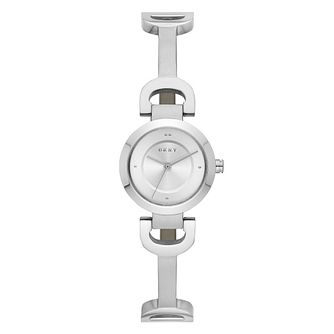DKNY Ladies' Reade Stainless Steel Link Bracelet Watch - Product number 9391320