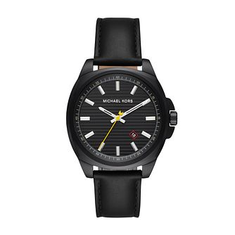Michael Kors Men's Bryson Black Strap Watch - Product number 9392882