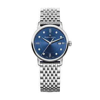 Maurice Lacroix Eliros Ladies' Blue Dial Diamond Watch - Product number 9393579