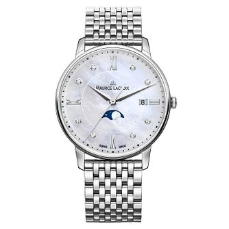 Maurice Lacroix Eliros Ladies' Moonphase Diamond Watch - Product number 9394028