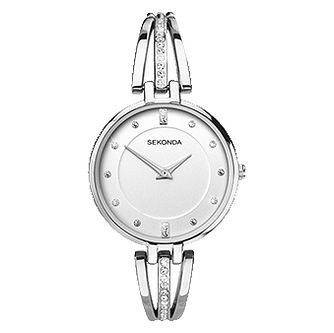 Sekonda Ladies' Silver Tone Bracelet Watch - Product number 9407103