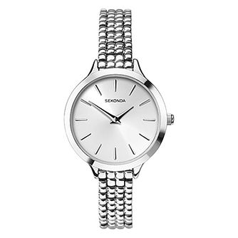 Sekonda Ladies' Silver Tone Bracelet Watch - Product number 9407111