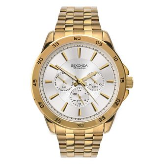 Sekonda Men's Gold Tone Bracelet Watch - Product number 9407510