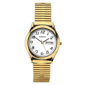 Sekonda Men's Gold Plated Stainless Steel Bracelet Watch - Product number 9407960