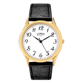 Limit Men's Black Strap Watch - Product number 9408290