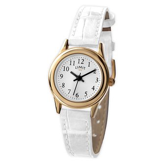 Limit White Strap Watch - Product number 9408541