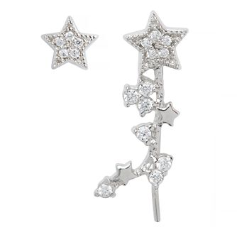 Olivia Burton Silver Tone Celestial Star Earrings - Product number 9408606