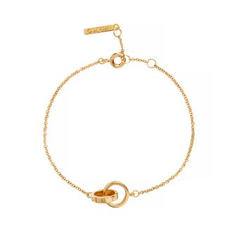 Olivia Burton Yellow Gold Tone The Classics Chain Bracelet - Product number 9408770