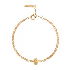 Olivia Burton Yellow Gold Tone 3D Bee Chain Bracelet - Product number 9408835