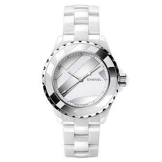Chanel Ladies White Ceramic Braclet Watch - Product number 9409599