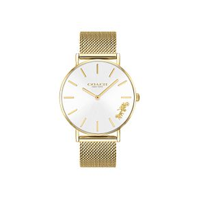 Coach Perry Ladies' Gold Mesh Bracelet Watch - Product number 9410147