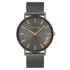Coach Perry Ladies' Grey Mesh Bracelet Watch - Product number 9410163